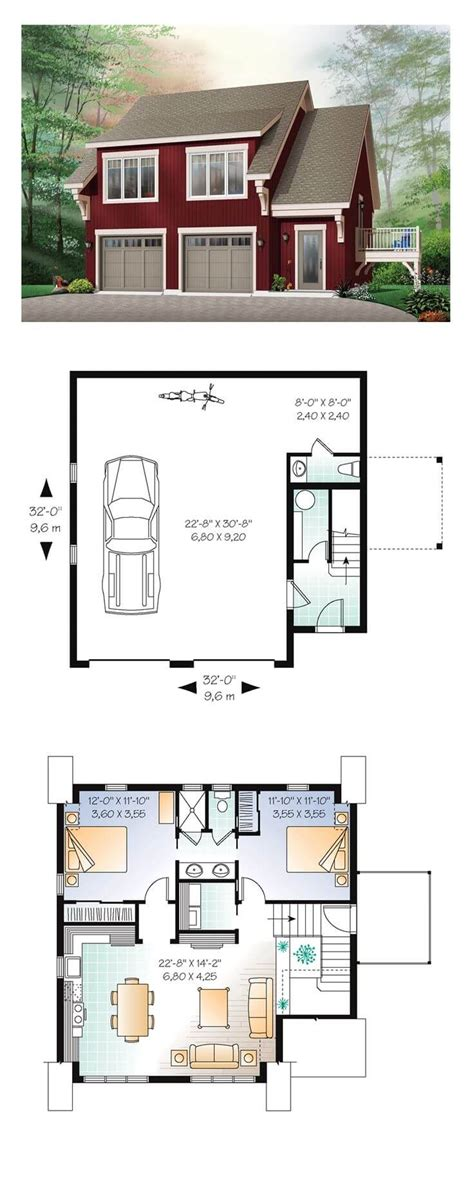 Floor Plan Apartment Over Garage