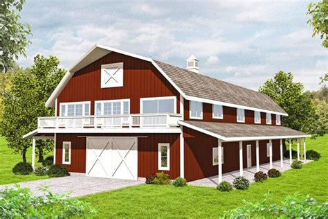 Floor Plans For A Barn With An Apartment