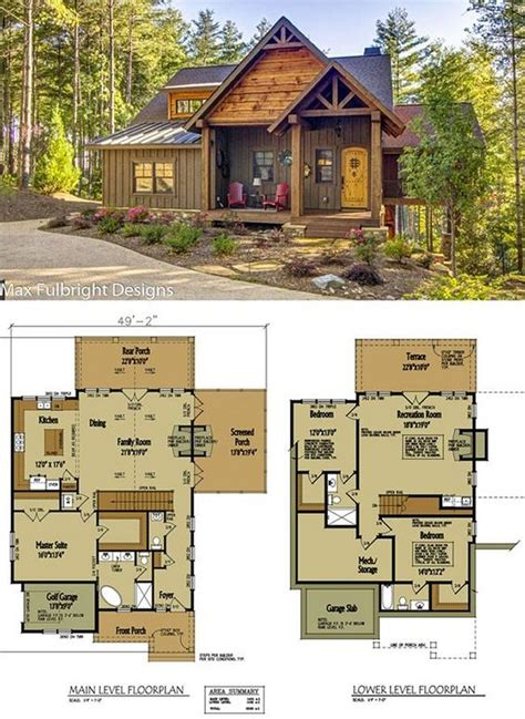 Floor Plans For Small Cabins And Cottages
