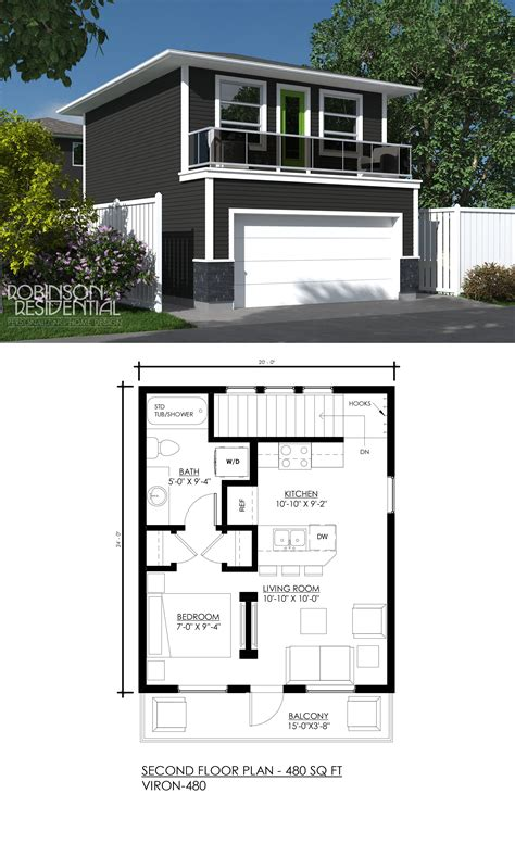 Floor Plans For Small Garage Apartments