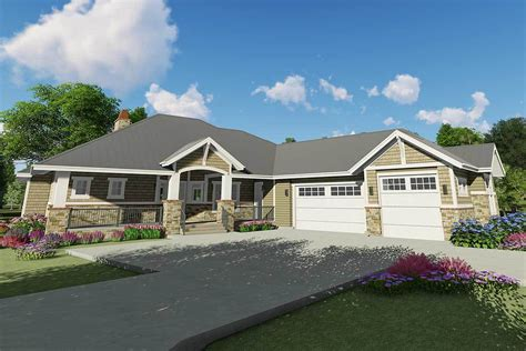 Floor Plans With Angled Garage