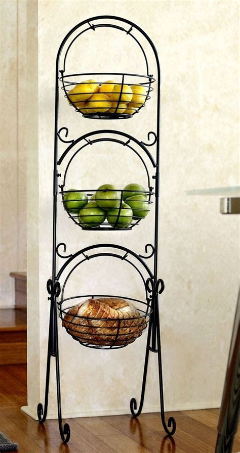 Floor Tiered Fruit Stand Diy