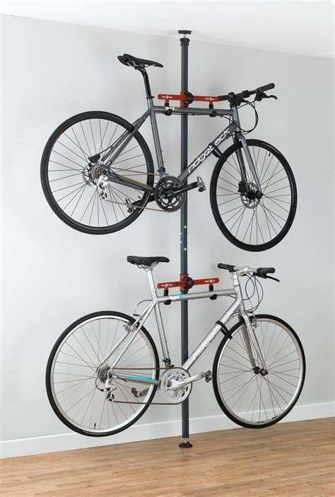 Floor To Ceiling Bike Rack Diy