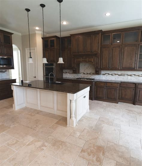 Floor cabinets for kitchen island Image
