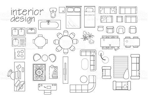 Floor-Plan-Furniture-Symbols