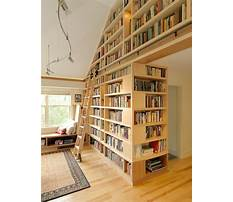 Best Floor to ceiling bookcase with ladder
