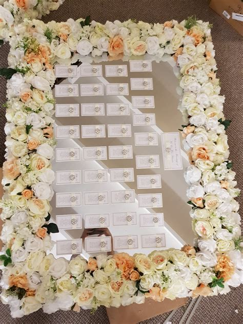 Floral-Table-Plan-Frame-Hire