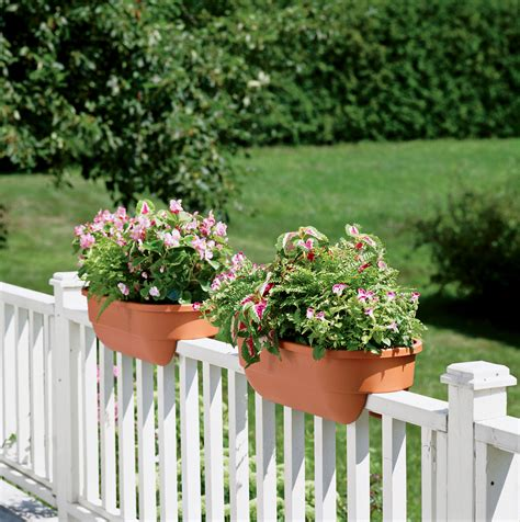 Flower Planters For Deck Railing
