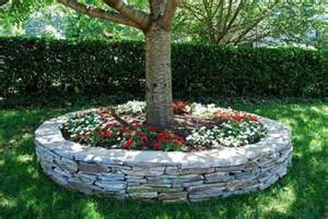 Flower-Bed-Plans-With-Multiple-Trees