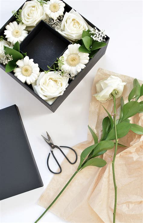 Flowers In Box DIY