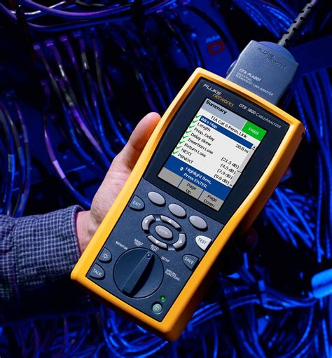[click]fluke Networks Dtx-1800-Mso 120-Gld Dtx-1800 Kit With Dtx .