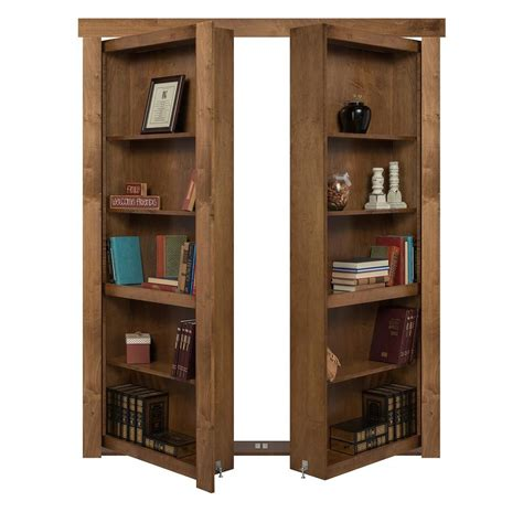 Flush Mount French Bookcase Door Diy