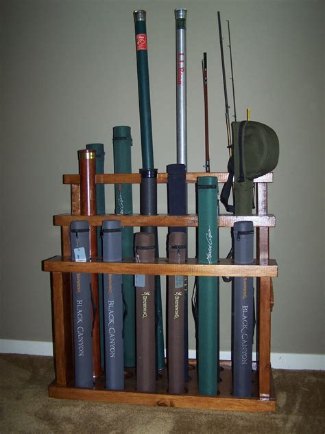 Fly Fishing Rod Rack Plans