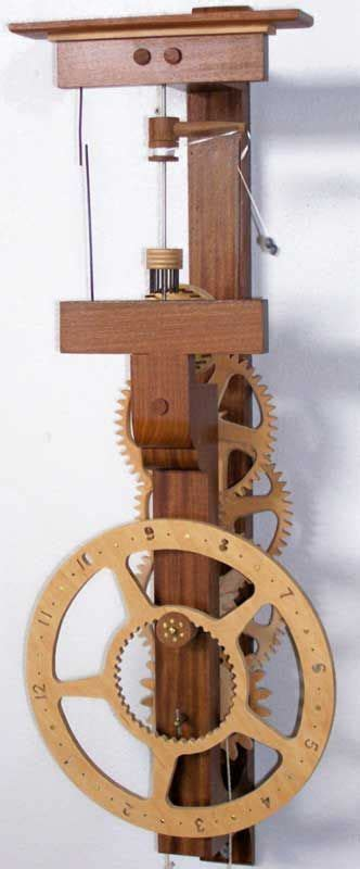 Flying-Pendulum-Wooden-Clock-Plans