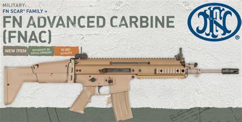 Fnac Rifle And Knights Armament Rifle Length Quad Rail