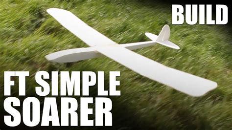 Foam-Board-Glider-Plans