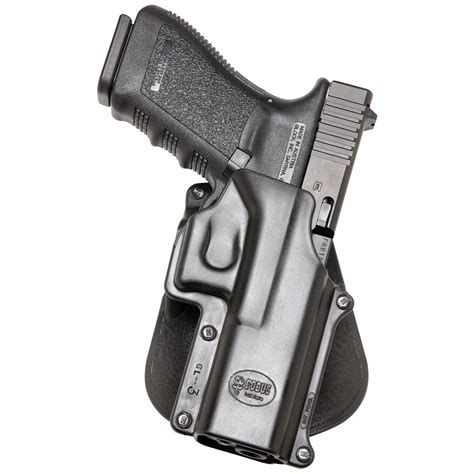Fobus Glock 20 Holster And Glock 17 Front Sight Height