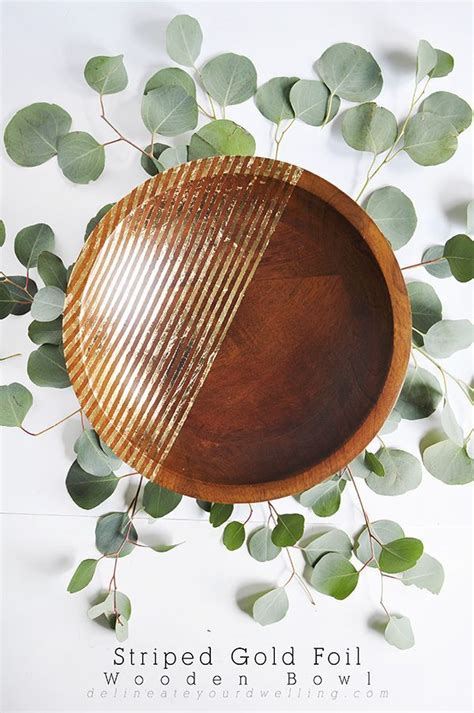 Foil For Striped Wood Diy Ideas
