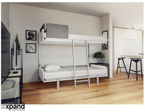 Fold Away Wall Free Loft Bed Plans Woodworking