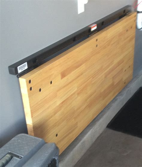 Fold Up Garage Workbench Plans