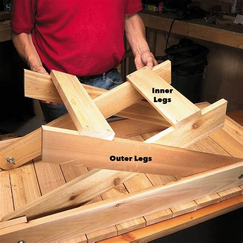 Fold Up Grill Table Plans