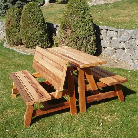 Fold Up Picnic Table Bench Plans