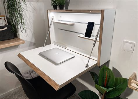 Fold Up Wall Desk Plans