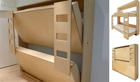 Fold-Down-Bunk-Bed-Plans