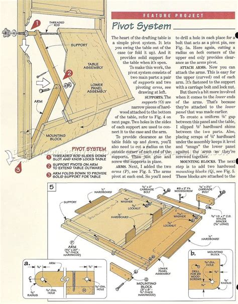 Fold-Down-Drafting-Table-Plans