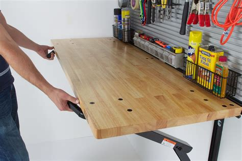 Fold-Down-Woodworking-Bench