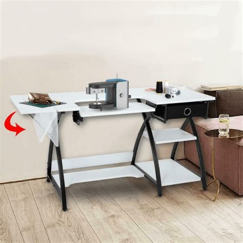 Foldable Craft Table With Storage