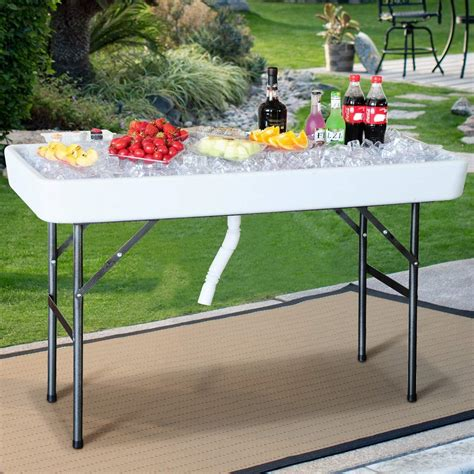 Foldable Picnic Table Diy With Ice