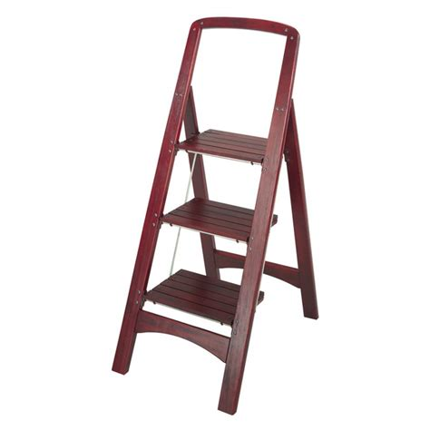 Foldable Wood Step Ladder