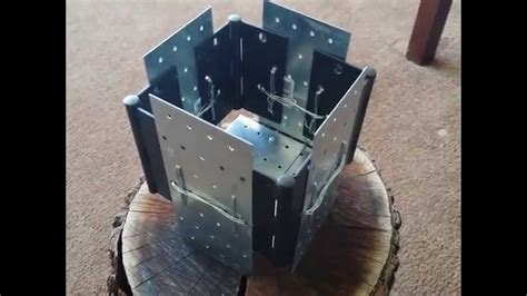 Foldable Wood Stove Diy