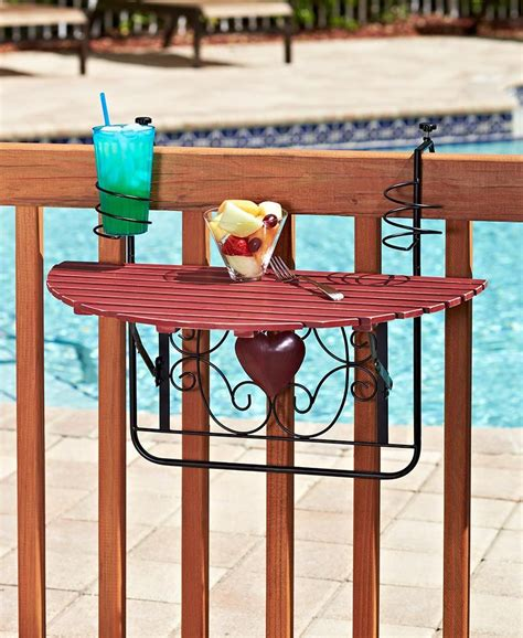 Folding Balcony Table Diy Ideas