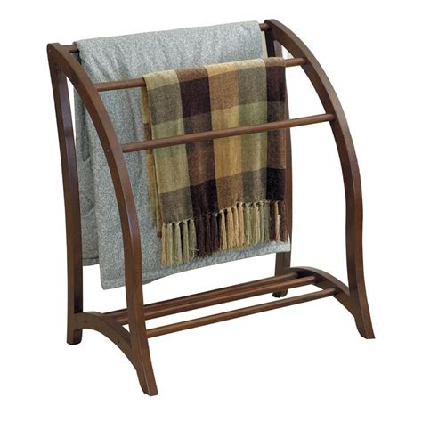 Folding Bedspread Rack Stand