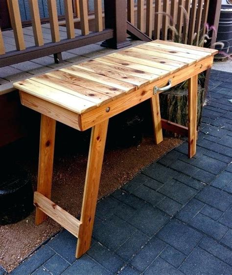 Folding Camping Table Plans