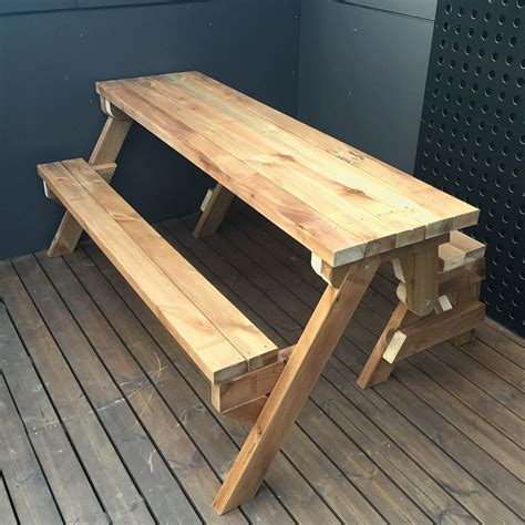 Folding Picnic Table Plans 2x4
