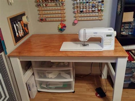 Folding Sewing Table Diy Ideas