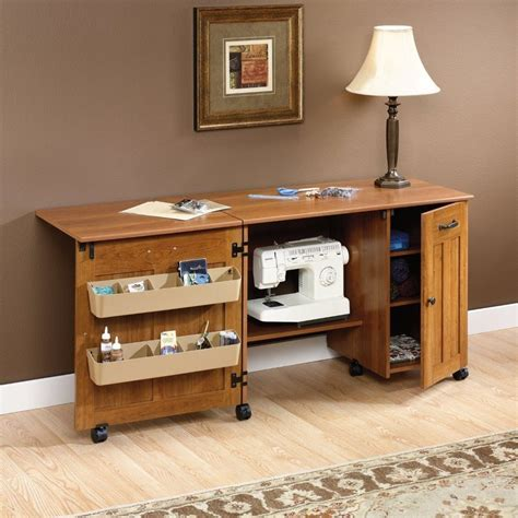 Folding Sewing Table Plans With Storage
