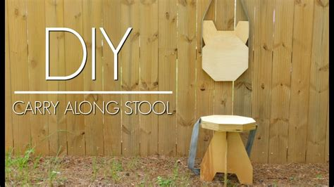 Folding Stool Diy Plywood