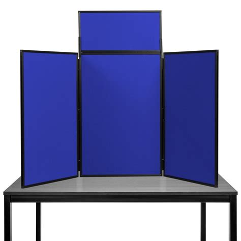 Folding Table Top Display Boards