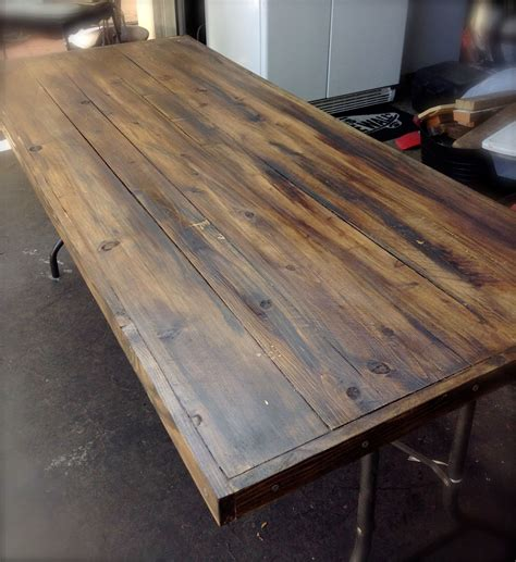 Folding Table Wood Top Diy Security