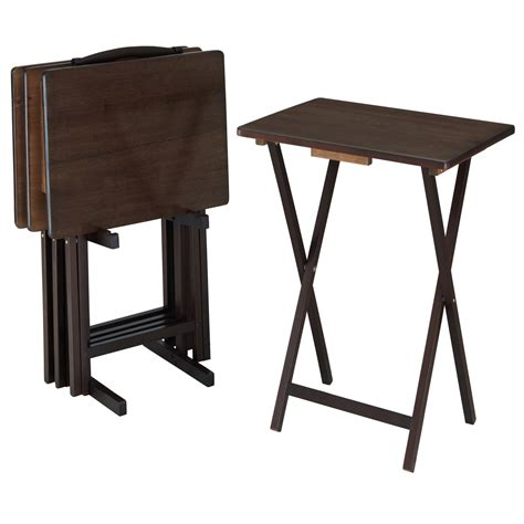 Folding Tv Tray Tables With Stand