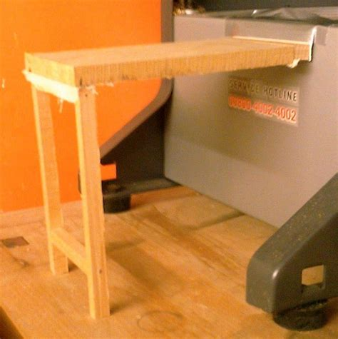 Folding Wall Mounted Table DIY