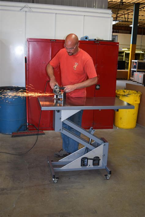 Folding Welding Table Plans PDF
