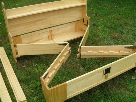 Folding Wood Bed Frame Plans