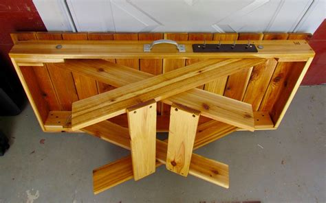 Folding Wood Camp Table Plans