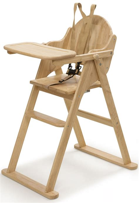 Folding Wooden High Chair Plans