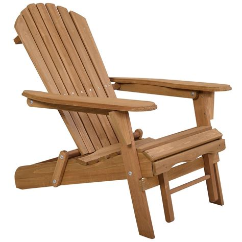 Folding-Adirondack-Chair-With-Ottoman